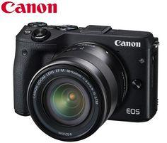 Câmera Canon EOS M3 - MirrorLess  Projetada para inspirar, a câmera digital EOS M3 traz o verdadeiro desempenho e qualidade de imagem da linha EOS em um modelo compacto, elegante e cheio de estilo.  Focus Filme. A sua loja de Equipamentos Fotográficos Profissionais.