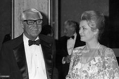 Actor Cary Grant and actress Princess Grace Kelly attend the 53rd Annual Variety Clubs International Convention Closing Night - Variety Clubs International's Humanitarian Award Salute to Frank Sinatra on April 24, 1980 at the Century Plaza Hotel in Century City, California.