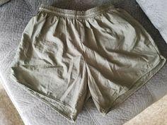 USMC MX3 MARINES PT Green Microfiber Lined SHORT TRUNKS SMALL MADE in USA #MX3 Usmc, Marines, Trunks, Shorts, Green, How To Wear, Closet, Ebay, Fashion
