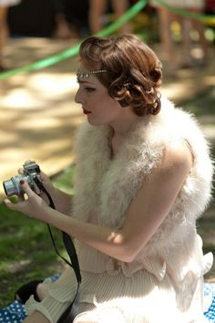 Street Style: The Chicest Lawn Party Ever Gets A Gatsby Twist
