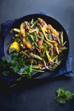 Sinfully Spicy : Bhindi Aloo (Spiced Potatoes & Okra)
