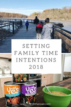 setting intentions for family time #ad #WellYes2018 #familytime #2018goals