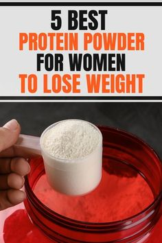 5 Best Protein Powders for Women Weight Loss - Tips on the best protein powder for weight loss for women. If you think that protein powder is only - Whey Protein For Women, Protein Shakes For Women, Protein Powder For Women, Weight Loss Protein Shakes, Natural Whey Protein, Whey Protein Shakes, Best Natural Protein Powder, Best Protien Powder, Low Carb Protein Powder