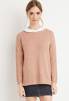 Textured Knit Sweater | Forever 21 - 2000142635