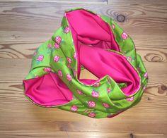 Glücksfrosch Loop pink, grün