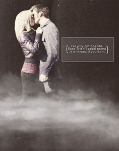 """""""I've only got one life, Rose Tyler, I could spend it with you, if you want"""" by francyssa"""