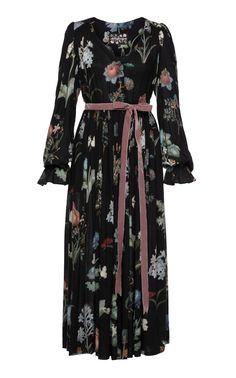 Lena Hoschek | Séance Floral Dress | Season of the Witch Collection