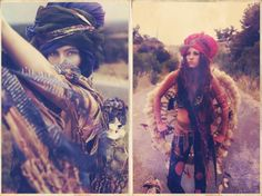 Reverie Drift Inspiration: Tribal Dress-up, tulle, feathers, distressed jeans...boho dreams.