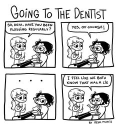 Brutally Honest :: Going to the Dentist  | Tapastic Comics