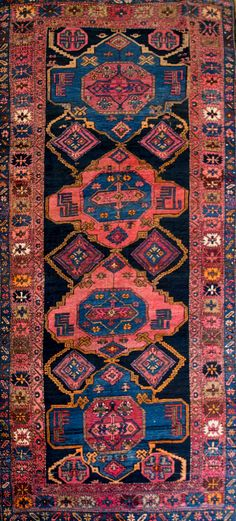 Love being surrounded by art each day! Color cancels out a dreary day...;-) http://www.nilipour.com/product/antique-shirvan-22570/ ##nilipourorient... - Nilipour Oriental Rugs - Google+