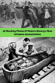 28 #Shocking #Photos Of #Modern #History's Most Infamous #Assassinations