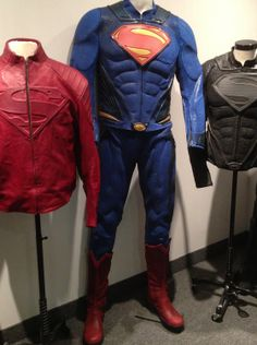 Man of Steel motorcycle apparel from UD Replicas are even more vibrant