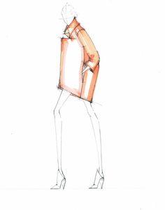 Alessandra De Gregorio Fashion Illustration