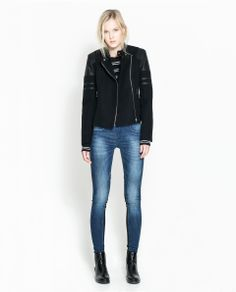 ZARA - WOMAN - SHORT COMBINATION JACKET