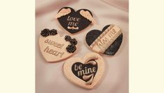 Beautiful Valentine cookie tutorial