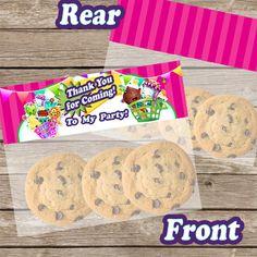 Shopkins Party Favor Bag Topper Ziploc Snack by PrintzNThings