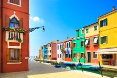 A little island that's big on colour. Burano Venice Italy.