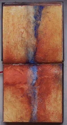 I'm searching III - Carnet de travail Pigments  Élisabeth Couloigner