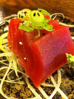 Sushi tuna sashimi