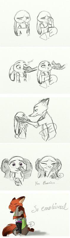 You bunnies, so emotional