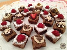Mini Brownies con chocolate Torras | Alice Bakery