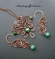 Set with turquoise by nastya-iv83.deviantart.com on @deviantART