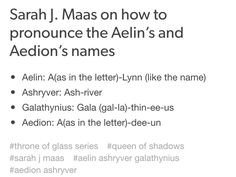 The only one I was mispronouncing was ashryver. I thought it was ash-rye-ver