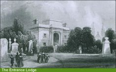 Kensal Green Cemetery Entrance lodge from their own website