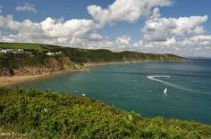 Coastline around Gorran Haven, Cornwall