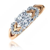rm166-pw  - Frederic Sage Engagement Ring