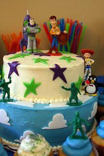 DIY Toy Story cake