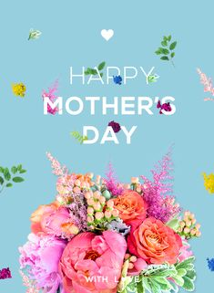 Florals and Type Poster on Behance Happy Mothers Day Images, Mothers Day 2018, Mothers Day Quotes, Mothers Day Brunch, Mother Day Message, Mother Day Wishes, Happy Mother S Day, Mother Day Gifts, Funny Wedding Vows