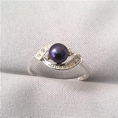 Nvc Silver Ring With Pearl