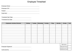 template for babysitter parents sign inout time sheet google search