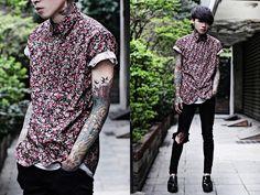 Tastemaker Shirt, Topshop Skinny