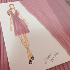 Criação do Vestido Pleat! #pleat #plissado #moda #fashion #atelier #ateliechicboom #brunabaraldi #estilista #vestidossobmedida #modafesta