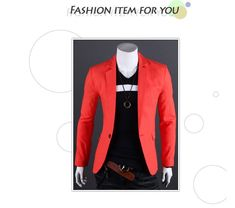 Hot 2016 New Spring Fashion Brand Blazer Men Single Breaster Casual Suit Jacket Men Slim Fit Suits High Quality Mens Blazers. Yesterday's price: US $12.17 (10.06 EUR). Today's price: US $12.17 (10.07 EUR). Discount: 54%.