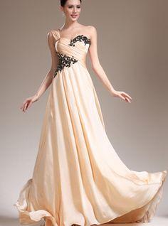 Vestido de noite/ Vestido de gala Triângulo Invertido Fino Bainha