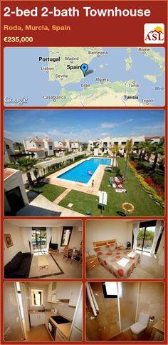 2-bed 2-bath Townhouse in Roda, Murcia, Spain ►€235,000 #PropertyForSaleInSpain