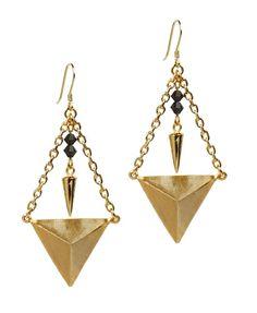 MAYA drop statement earrings | EDGE OF EMBER