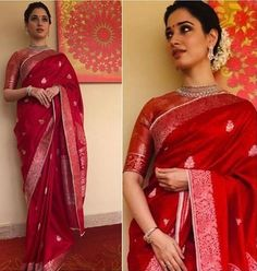 Sarees are a go to attire for everyone nowadays.Saree can really bring out the feminine side of every woman. Here we are presening Silk Saree Designs. Kerala Saree Blouse Designs, Saree Blouse Patterns, Trendy Sarees, Stylish Sarees, Kanjivaram Sarees, Silk Sarees, Banarsi Saree, Kanchipuram Saree, Saris