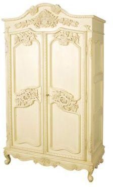 Valbonne carved ornate armoire by Lover's lounge