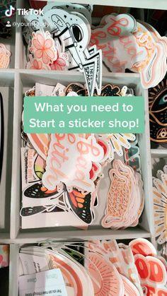 Sticker Shop, Sticker Design, Resin Crafts, Fun Crafts, Paper Crafts, Etsy Business, Craft Business, Business Stickers, Best Small Business Ideas