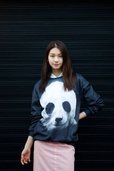 That's one of the most Fashionable clothes on Earth! #Panda