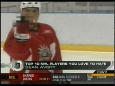 Ten Most Hated NHL Players