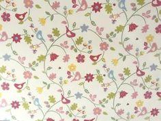 Clarke Clarke Bramble Summer Floral Birds Ladybirds Curtain Furnishing Fabric   eBay