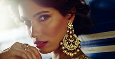 Those earrings! | Get to Know: Model Keisha Lall | Couture Rani