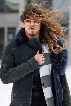 Hot Guys, Hot Men, 80s Fashion, Love Of My Life, Jon Snow, Winter Jackets, Long Hair Styles, Boys, Music