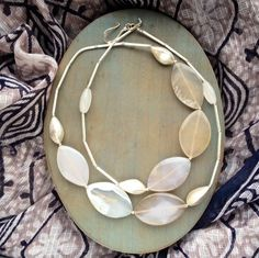 Agate and sterling silver necklace £139.00