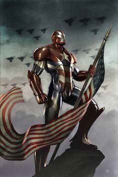 Dark Avengers #1 variant Cover by Adi Granov.